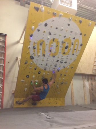 Nov 19_trying the Moonboard